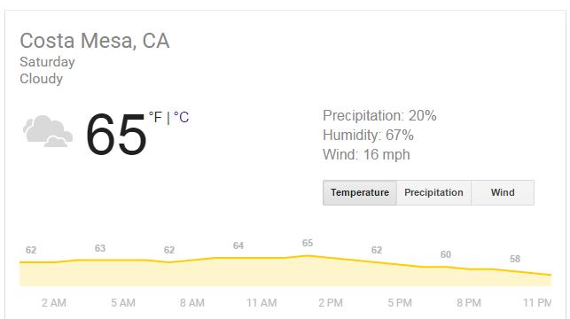 oc wahoos weather