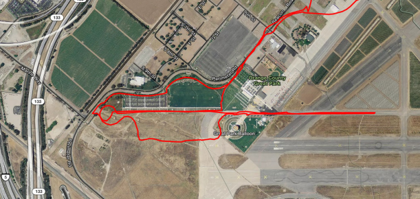 easy park route - 5k