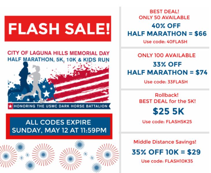 Revel Half Marathon and Full Marathon Discount